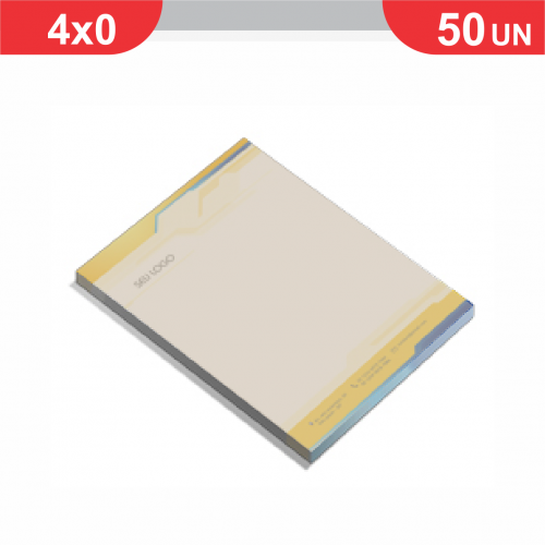Receituário - 100x1 via - 50 unidades