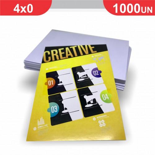 Folheto - 1000 unidades