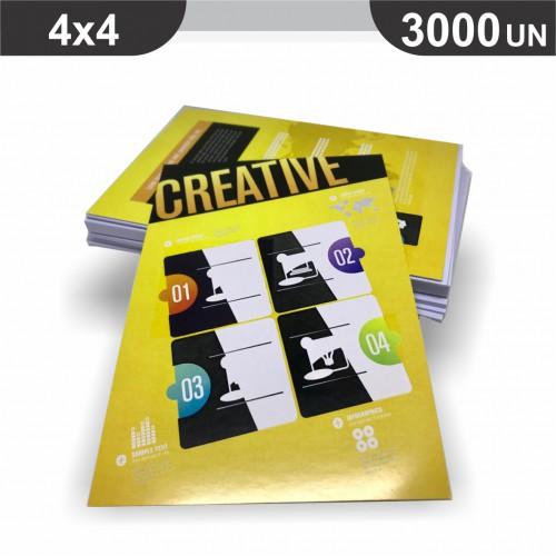 Folheto - 3000 unidades