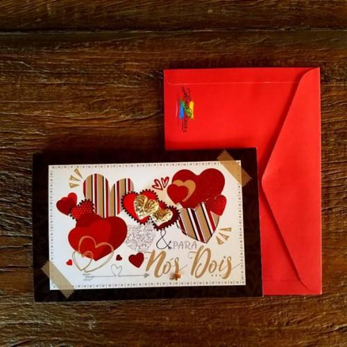 Cartão de Amor - Nós Dois - Zenir Dizarz