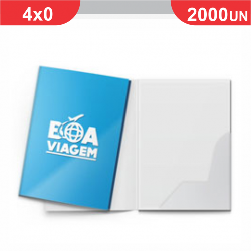 Pasta com Bolsa Encaixe - 2000 unidades